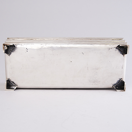 An early 1930s silver box.