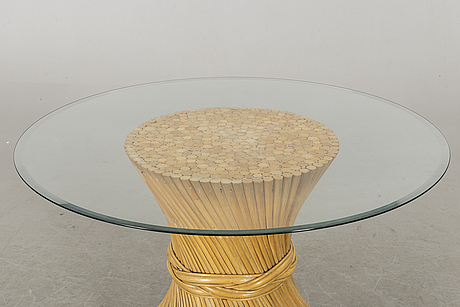 Table, attributed john mcguire, 1970's.