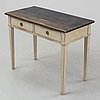 A circa 1900 painted writing desk.