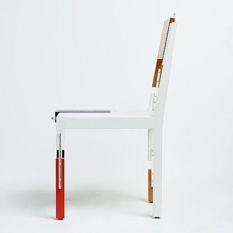 """Sigurdur gustafsson, stol, """"copy and paste"""", källemo, värnamo, efter 2007, nr 66/99."""