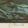 Christo & jeanne-claude, offset, signerad, numrerad 259/999.