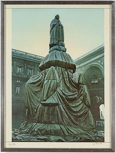 Christo & jeanne-claude, offset lithograph, signed and numbered 259/999.