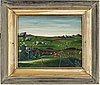 Georges spiro, oil on board, signed spiro and dated 5?.