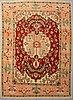 A carpet, serapi design, 364 x 270 cm.