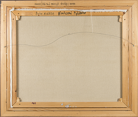 KalervolÖytynoja, olja på duk, signerad och daterad -90.
