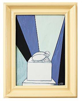 "179. Marie-Louise Ekman, ""Ett baby-monument och en Olle Baertling-tavla""."