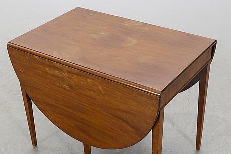 Frits henningsen, a mahogany flap table mid 1900's.