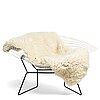 "Harry bertoia, a ""diamond chair wide"", for knoll international, possibly on licence by nordiska kompaniet, 1950-60's."