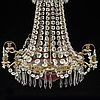 A mid 20th cenutry chandelier.