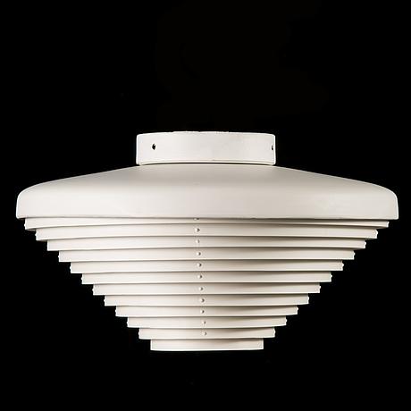 Alvar aalto, a 'a605' ceiling lamp for valaistustyö.