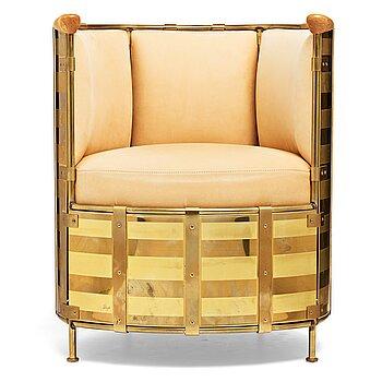 "84. Mats Theselius, an ""El Dorado"" easy chair for Källemo, Sweden, post 2002."