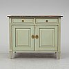 A gustavian style sideboard, early 20th century.