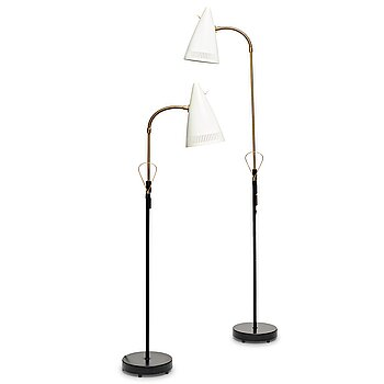 "8. Falkenbergs belysning, model ""7070"", two floor lamps, Sweden 1960's."