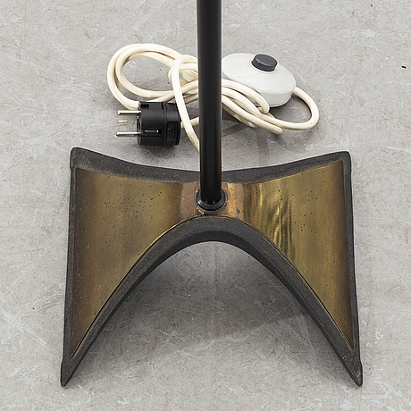 A second half of the 20th century floor lamp.