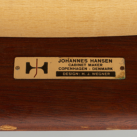 """Hans j wegner, karmstol, """"jh 513"""", johannes hansen, danmark."""