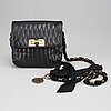 Lanvin, a 'happy bag' quilted leather hand bag.