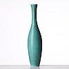 Carl-harry stålhane, a large stoneware vase, rörstrand 1950's.
