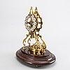 Table clock, gustav becker, first half of the 20th century.