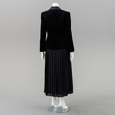 Frank usher, a cocktail dress and jacket, size 12.