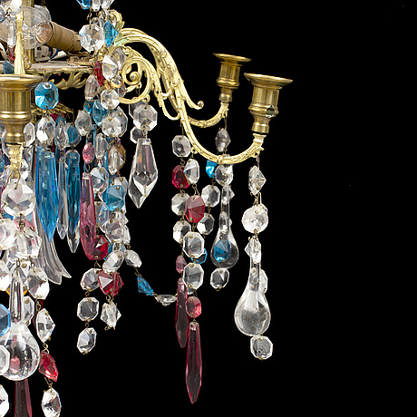 A late 1800's chandelier.