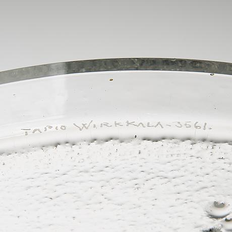 Tapio wirkkala, a '3561' bowl signed tapio wirkkala-3561.