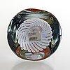 Oiva toikka, a 'latina ii' glass sculpture, signed oiva toikka iittala 2010, numbered 13/30.