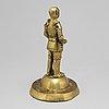 Skulptur, brons, troligen 1600-tal.