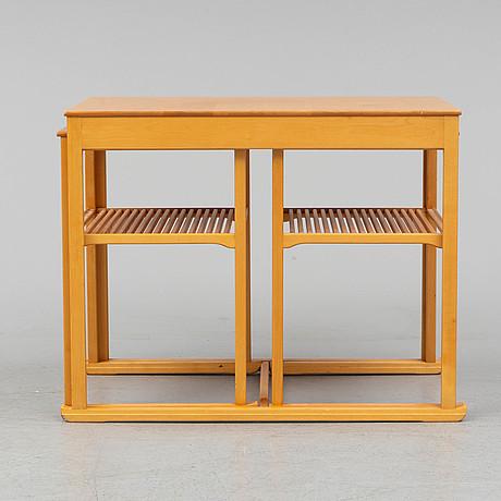 "A ""släden"" birch coffee table by carl malmsten."