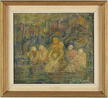 Johannes Sveinsson Kjarval, oil on canvas, signed.