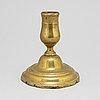Ljusstake, brons, 1700-tal.