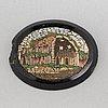 Mikromosaik, italien, 1800-tal.