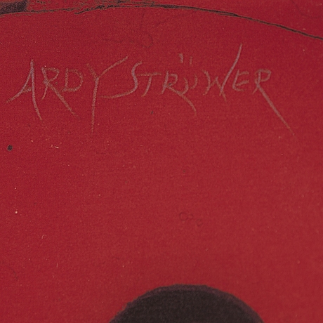 Ardy strÜwer, mulötiple, glas/mixed media, signed 11/200.