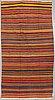 A carpet, shiraz, kelim, ca 318 x 157 cm.