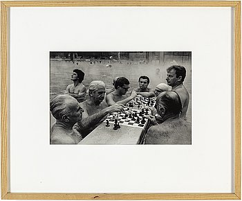 PETER DE RU, gelatin silver print, signed and numbered 9/15.