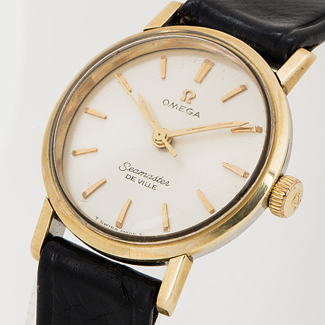 Omega, seamaster de ville, wristwatch, 22 mm.