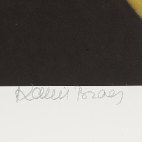 Karin broos, giclée print, signed karin broos and numbered 14/90 in pencil.