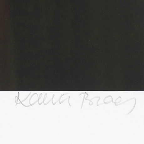 Karin broos, giclée print, signed karin broos and numbered 2/90 in pencil.