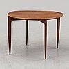 H. engholm & svend aage willumsen, a teak model 4508 tray table from fritz hansen, denmark.