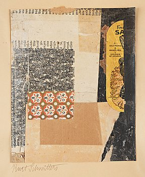 586. Kurt Schwitters, Untitled (AOK 21 Gold Medals).