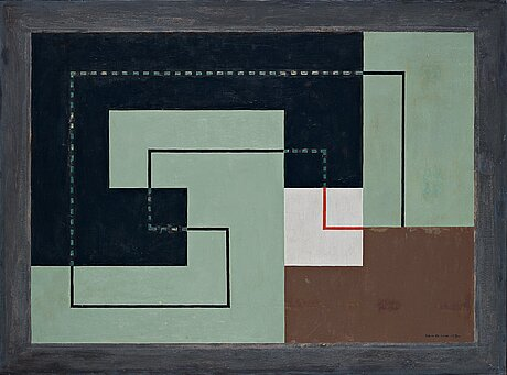 "Erik olson, ""concret"" 1930 - composition n""."