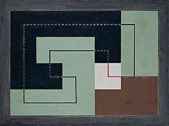 """390. Erik Olson, """"Concret"""" 1930 - Composition N""""."""