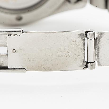 Omega, seamaster (150m/500ft), aqua terra,  chronometer, wristwatch, 38 mm.