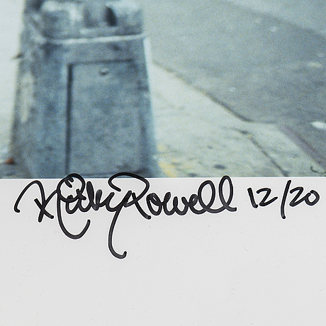 Ricky powell, a photograph, signed and numbered 12/20.
