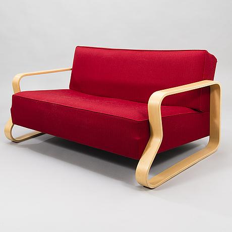 Alvar aalto, a late 20th-century '544' sofa for artek.