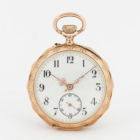 Pocket watch, 34 mm.