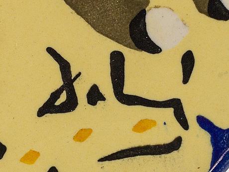 Salvador dalÍ, efter, kakelplattor, 29 paket à 6 st + 7 st lösa, signerade i godset.
