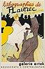Henri de toulouse-lautrec, after, exhibition poster, 1950's.