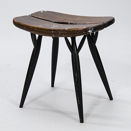 Ilmari tapiovaara, a late 1950's 'pirkka' stool for asko finland.