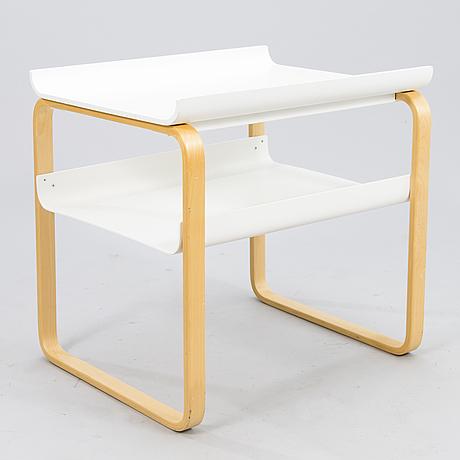 An alvar aalto side table model 915, artek finland 2004.