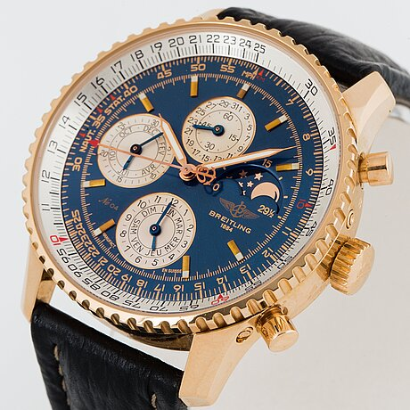 Breitling, navitimer 1461, limited edition, chronograph, wristwatch, 41.5 mm.